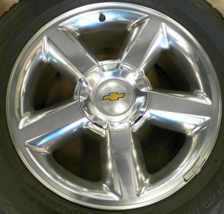 "20"" Chevy Silverado Suburban Tahoe Wheels with Tires 275 55 20 899B"