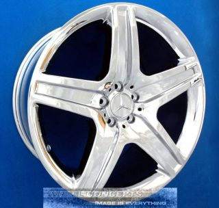 Mercedes GL550 AMG 21 inch Chrome Wheel Exchange GL 550