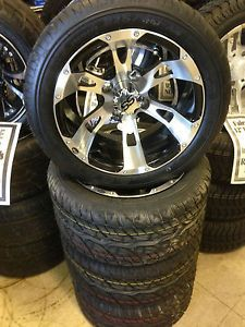 Golf Cart Wheels Tires ITP SS112 Wheel Duro 215 40 12 Tires New