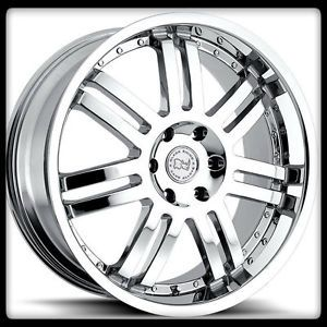 "22"" x 9 5"" Serengeti Off Road Black Rhino Chrome Avalanche Sedona H3 Wheels Rims"