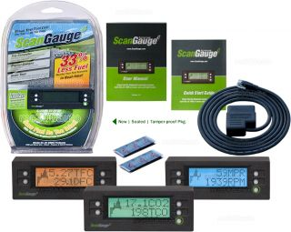 Scangaugee ODB 2 II Digital Gas Fuel Saver ODB2 Gage Trip Computer Scan Guage E