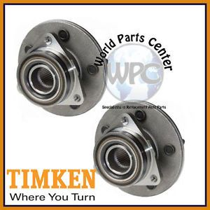 TIMKEN 2 Front Wheel Bearing Hub Assembly Ford F150 4x4 Rear Wheel ABS 5 Stud