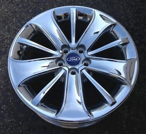 "Ford Taurus 19"" Used Chrome Wheel Rim 3819"