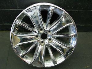 "19"" Ford Taurus Chrome Clad Used Factory Wheel Rim 3819"