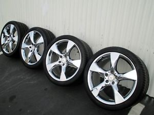"2012 19"" Chrome CLS550 SL550 Factory Mercedes Wheels AMG SL63 SL500 CLS63"