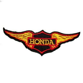 SK A91 Honda Iron on Patch Embroidered T Shirt Accessories Car Motorcycle