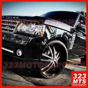 "26"" 2CRAVE NO21 21 Chrome Wheels Rims Cadillac Chevrolet GMC Hummer Escalade Le"