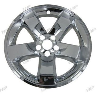"08 13 Dodge Challenger 18"" Chrome Wheel Skin Hubcaps Cover Hub Cap"
