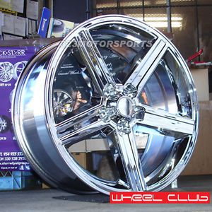 "22"" Wheel IROC Wheels Rims Chrome 5 127 5 120 Camaro Impala Tahoe"