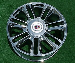 Best New Cadillac Escalade Platinum Chrome Exact GM Style 22 inch Wheel 5358