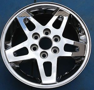 "One 2008 2009 2010 GMC Sierra Denali 1500 Pickup 18"" Wheel Rim Chrome 5366"
