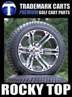 ITP Low Profile Golf Cart Tires SS212 Aluminum Wheels