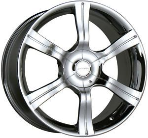 "Nissan 20"" Chrome Wheels"