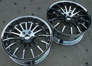 "Giovanna Martuni 20"" Chrome Rims Wheels Maxima Stag"