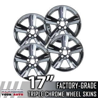 "2008 2011 Toyota Matrix 17"" Chrome Wheel Skins Covers"