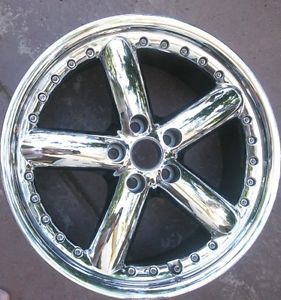 Coventry Hornet Jaguar Chrome Wheels Rims 2 Used 18 x 8 5 20 Offset 5 x 120 65