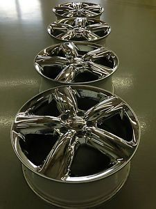 4 2013 Dodge Durango Citadel Factory 20 Wheels Rims Caps Chrome 5x5 Lugs
