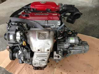 JDM Toyota Celica MR2 ST202 3sge vvti Beams Engine 3S Red Top with Transmission