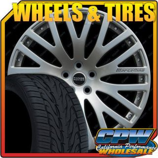 Upgraded Wheel and Tire Package for Range Rover Sport Toyo Tires