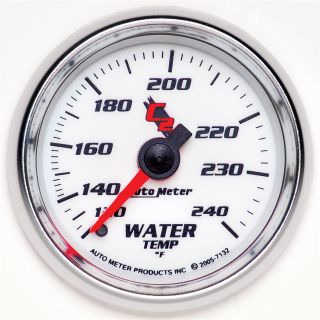 Auto Meter 7132 C2 Mechanical Water Temperature Gauge