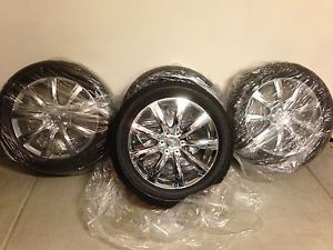 "Chrome Infiniti QX56 22"" Rims Wheels Tires Set 2011 2012 2013 11 12 13"