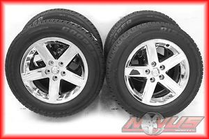 "2012 20"" Dodge RAM 1500 Bighorn Durango Chrome Wheels Cooper Tires 18 22"