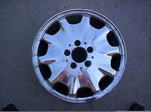 "Mercedes Benz E320 E420 E430 Chrome 16""OEM Wheel Rim 1996 1997 1998 1999 65168"