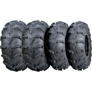 "25"" Yamaha Grizzly ITP Mud Lite A T ATV Tire ITP SS Wheel Kit Life Warranty"