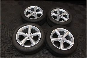 "2005 2014 Ford Mustang GT 18 "" Premium Wheels Tires Toyo Proxes 4 235 50 ZR"