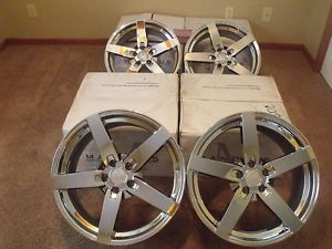 "Mandrus Arrow Chrome Wheels for Mercedes Chrysler Crossfire 2 18"" and 2 19"""