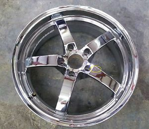 "19"" Bremmer Kraft Chrome Rim Wheel BR 1"
