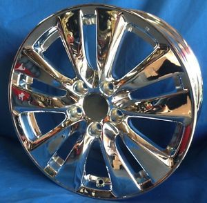 "17"" 2012 Honda Accord Coupe OE Chrome Wheels 4 New Rims 17x7 5 5x114 3 ET55"