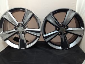 "17"" Chevy Cruze Wheel Rims Chrome 5522 Black Chrome New"