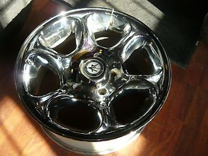 "Set of 17"" Chrome American Racing Wheels 5x5 5 Big Bore Used Good Condition"