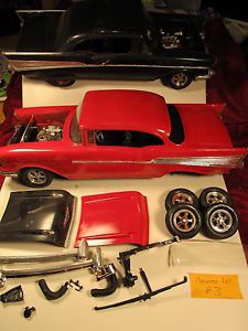 2 Vintage 1 12 Scale 1957 Chevy Chevrolet Open Junk Yard Parts Box Lot 3