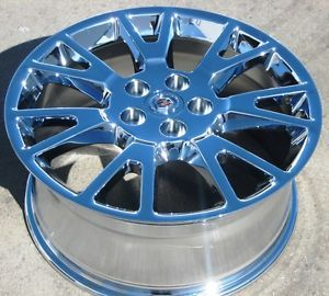 "Exchange Your Stock 4 New 19"" Factory GM Cadillac cts Chrome Wheels Rims"