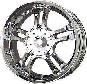 "18"" inch 6x4 5 6x114 3 Chrome Wheel 18x8 5"" 6 Lug Dodge Durango Dakota"