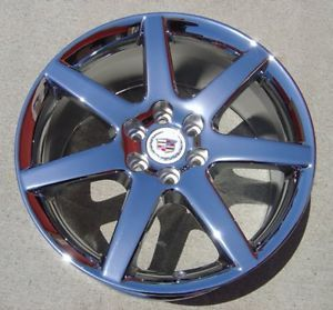"18"" Cadillac cts V New Chrome Wheels Rims 2008 2011 Brand New H 4583 cts V"