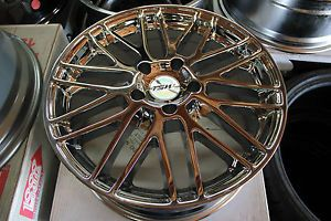 "18"" TSW Croft Chrome Wheels Rims 5x120 BMW"