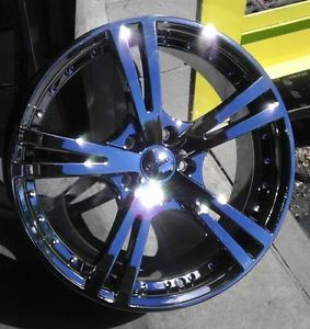 "17"" inch 5x110 Phantom Chrome PVD Wheels Rims 5 Lug Pontiac Chevy Cobalt Saturn"