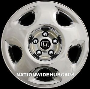 "4 Chrome 07 2012 Honda CRV 17"" Wheel Covers Rim Skins Hub Caps for Steel Wheels"