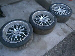 "95 Nissan 240sx Wheels Aftermarket HP Design 18"" A72"