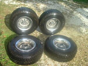 "Set of 4 31x10 5x15 Lt Tires 15"" Range Runner All Terrain Chevy Ford Dodge Truck"