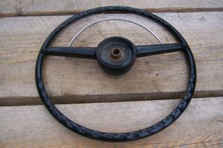 1952 1953 Ford Steering Wheel Horn Ring 32 33 34 35 36 37 38 39 40 Hot Rat Rod