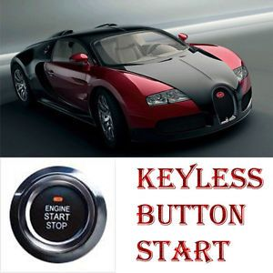 12V Auto Car Ignition Start Push Button Keyless Remote Truck Start System