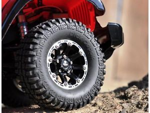 "RC 4WD Dick Cepek Torque 1 9"" Internal Beadlock Wheels Z W0060"