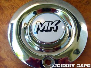 MK Motorsports Wheels Custom Wheel Chrome Center Cap Caps 1