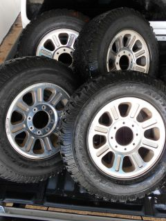 "Set of 4 18"" King Ranch Rims w BF Goodrich All Terrain Tires"