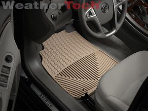 Weathertech® All Weather Floor Mats 2010 2013 Buick Lacrosse Tan