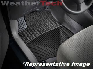 Weathertech® All Weather Floor Mats Toyota Matrix 2003 2008 Black